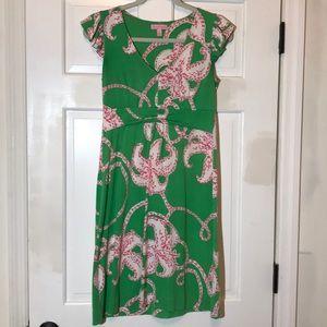 Lilly Pulitzer Silk/Cotton Stretch Dress